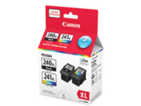 Canon PG-240XL & CL-241XL Ink Value Pack - 2-pack - High Capacity - black, color (cyan, magenta, yellow) - original - i…