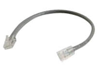 C2G 6in Cat6 Non-Booted Unshielded (UTP) Ethernet Network Patch Cable - Gray - patch cable - 15.2 cm - gray