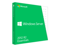 Microsoft Windows Server 2012 R2 Essentials - Box pack - 1 server (1-2 CPU), up to 25 users - DVD - 64-bit - English