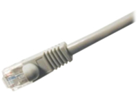 Comprehensive patch cable - 2.13 m - gray