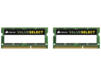 CORSAIR Value Select - DDR3L - kit - 16 GB: 2 x 8 GB - SO-DIMM 204-pin - unbuffered