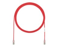 Panduit TX6-28 Category 6 Performance - patch cable - 2.13 m - red