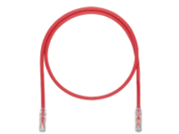 Panduit TX6A 10Gig patch cable - 7.32 m - red