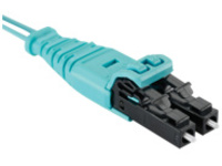 Panduit Opti-Core Push-Pull - patch cable - 42 m - aqua