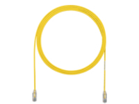 Panduit TX6-28 Category 6 Performance - patch cable - 30 cm - yellow
