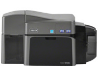 Fargo DTC 1250E - plastic card printer - color - dye sublimation/thermal resin