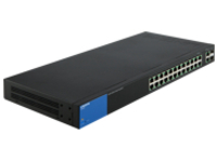 Linksys Business Smart LGS326P - switch - 26 ports - managed - rack-mountable