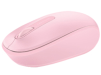 Microsoft Wireless Mobile Mouse 1850 - mouse - 2.4 GHz - light orchid