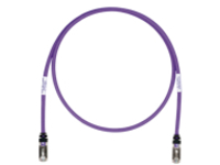 Panduit TX6A 10Gig patch cable - 3.96 m - violet
