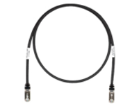 Panduit TX6A 10Gig patch cable - 1.22 m - black