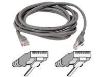 Belkin patch cable - 2.43 m - gray