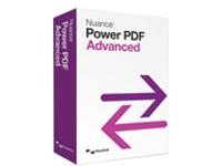 Nuance Power PDF Advanced - ( v. 1.0 ) - box pack - 1 user - EDU - DVD - Win - English - United States