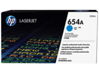 HP 654A - cyan - original - LaserJet - toner cartridge (CF331A)