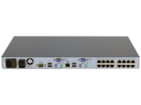 HPE Server Console Switch 0x2x16 - KVM switch - 16 ports - rack-mountable