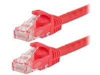 Monoprice FLEXboot Series patch cable - 6.1 m - red