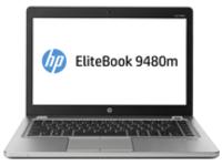 "Image of HP EliteBook Folio 9480m - 14"" - Core i5 4210U - Windows 7 Pro 64-bit / Windows 8.1 Pro downgrade - 4 GB RAM - 500 GB..."
