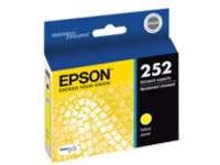 Epson 252 - yellow - original - ink cartridge