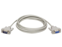 Tripp Lite 6ft DB9 Serial Extension Cable Straight Through RS232 M/F 6' - serial cable - 1.8 m