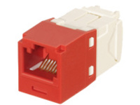 Panduit MINI-COM TX6 Plus Keyed UTP Jack Module - modular insert