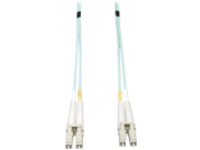 Tripp Lite 4M 10Gb Duplex Multimode 50/125 OM3 LSZH Fiber Patch Cable LC/LC Aqua 4 Meters - patch cable - 4 m - aqua