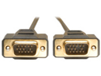 Tripp Lite 6ft VGA Monitor Gold Cable Molded Shielded HD15 M/M 6' - VGA cable - 1.8 m