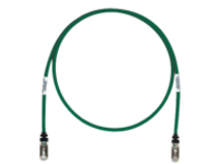 Panduit TX6A 10Gig patch cable - 50 cm - green