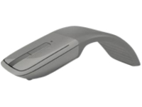 Image of Microsoft Arc Touch Bluetooth Mouse - Mouse - optical - 3 buttons - wireless - Bluetooth - silver - for Surface