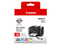 Canon PGI-1500XL C/M/Y/BK Multipack - High Yield - black, yellow, cyan, magenta - original - ink tank
