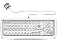 Honeywell - keyboard - QWERTY