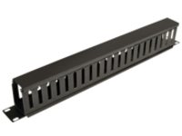 Tripp Lite Rack Enclosure Horizontal Cable Manager (finger duct) 1URM rack cable management duct with cover - 1U