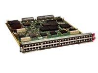 Cisco Express Forwarding 256 Interface Module - switch - 48 ports - managed - plug-in module
