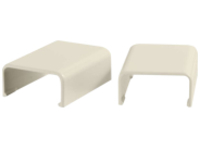 C2G 2 Pack Wiremold Uniduct 2800 Cover Clip - Ivory - cable raceway cover clip