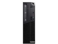 Image of Lenovo ThinkCentre M73 10B6 - SFF - 1 x Core i3 4150 / 3.5 GHz - RAM 4 GB - HDD 500 GB - DVD SuperMulti...