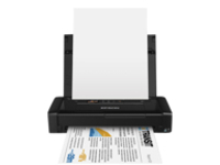 Epson WorkForce WF-100W - Printer - colour - ink-jet - A4/Legal - 5760 x 1440 dpi - up to 14 ppm (mono) / up to 11 ppm (colour) - USB 2.0, Wi-Fi(n)