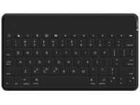 Image of Logitech Keys-To-Go - Keyboard - Bluetooth - waterproof - black - for Apple iPad; iPhone; Apple TV