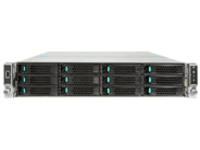 Intel Server System R2312WTTYSR - rack-mountable - no CPU - 0 GB - no HDD