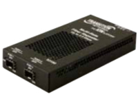 Transition Networks Stand-Alone - fiber media converter - 10Mb LAN, 100Mb LAN, GigE, InfiniBand, Fibre Channel, 2Gb Fib…