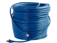 C2G 150ft Cat6 Snagless Solid Shielded Ethernet Network Patch Cable - Blue - patch cable - 45.7 m - blue