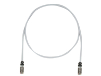 Panduit TX6A 10Gig patch cable - 15.2 m - international gray