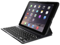 Image of Belkin QODE Ultimate Pro - Keyboard and folio case - Bluetooth - black keyboard , black case - for Apple iPad Air 2