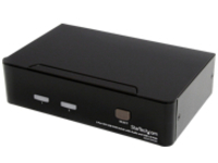 StarTech.com 2 Port DVI KVM Switch - USB DVI Dual Link - Hot-key & Audio Support - 1920x1200 KVM Switch - KVM Video Swi…