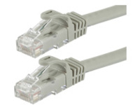 Monoprice FLEXboot Series patch cable - 3.05 m - gray