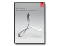 Image of Adobe Acrobat Standard DC 2015 - box pack