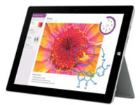Image of Microsoft Surface 3 - Tablet - no keyboard - Atom x7 Z8700 / 1.6 GHz - Windows 8.1 Pro 64-bit - 4 GB RAM - 64 GB SSD...