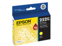 Epson 252XL - XL - yellow - original - ink cartridge