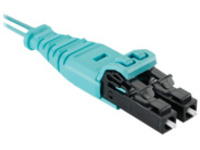 Panduit Signature Core Push-Pull - patch cable - 12 m - aqua