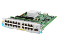HPE - expansion module - Gigabit Ethernet (PoE+) x 20 + 40 Gigabit QSFP+ x 1