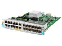 HPE - expansion module - Gigabit Ethernet (PoE+) x 12 + Gigabit SFP x 12
