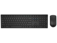 Dell KM636 - keyboard and mouse set - English