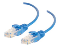 C2G 6in Cat6 Ethernet Cable - Slim - Snagless Unshielded (UTP) - Blue - patch cable - 15.24 cm - blue